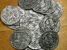 ATOCHA SHIPWRECK SILVER TONE PLAY TOKEN RECREATIONS - MADE FROM LEAD FREE PEWTER