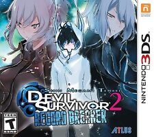 Shin Megami Tensei: Devil Survivor 2 Record Breaker (Nintendo 3DS) Brand NEW