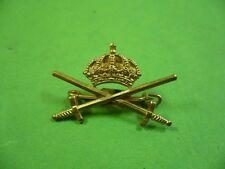 507ks1 insigne, broche, pin: couronne avec deux sabres; Crown & 2 swords