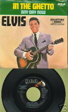 ELVIS PRESLEY 45 TOURS USA COLLECTOR IN THE GHETTO