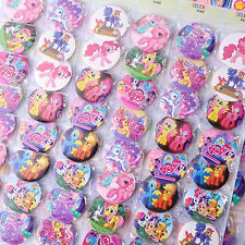 20x Cute My Little Pony Figures Pin Button Brooch Badges Kids Children Toy #AD