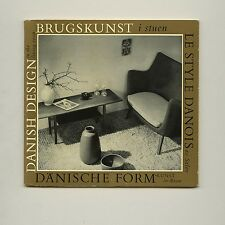 1956 Finn Juhl DANISH DESIGN IN THE LIVING ROOM Kay BOJESEN Hans WEGNER Ditzels
