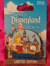 2016 Disneyland Piece Of Disneyland History Sleeping Beauty Castle Pin Pre Sale