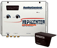 AudioControl The Epicenter Bass Maximizer Equalizer Digital Restoration White