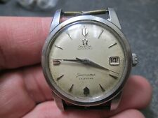 Omega AUTOMATIC SEAMASTER CALENDAR STAINLESS CALIBER 505 MENS Running Wristwatch