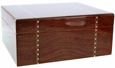 Ashton - Ironwood Marquetry Small Savoy Cigar Humidor 50CT - HSAIWMS