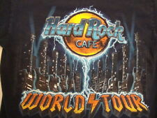 Hard Rock Cafe World Tour Dallas Navy Blue T Shirt S