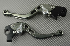 Short brake & clutch levers pair CNC titanium Yamaha V-MAX vmax 1200 1987- 2003