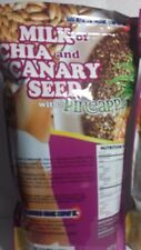 2  MILK OF CHIA AND CANARY SEED W/ PINEAPPLE 12/17 (PACK OF 2) 14 OZ EA NEW