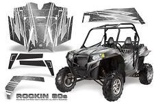 POLARIS RZR 900 XP 900XP & PRO ARMOR DOOR GRAPHICS KIT CREATORX ROCKIN 80s S