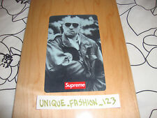 SUPREME 20TH ANNIVERSARY TAXI DRIVER SKATE DECK RED BOX LOGO SKATEBOARD WOOD