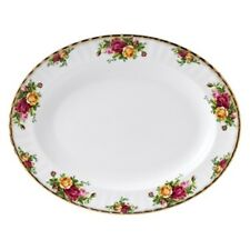 "Royal Albert Old Country Roses 15"" Oval Serving Platter"