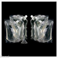 Blasani TM Concealable Plastic Cruise Rum Sneak Flask Set (2x32oz, 2x16oz, 2x8oz