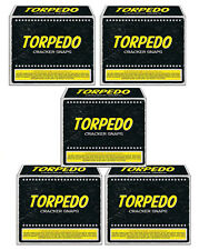 5 boxes SUPER LOUD Adult Party Snappers Torpedo Cracker Snaps 5 boxes of 20 each
