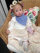 REALISTIC REBORN BABY LOLA from Donna Rubert's Tibby 24 month baby