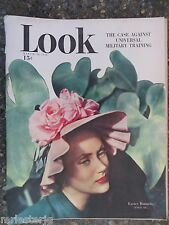 1948 March 30 Look Magazine Military Training VINTAGE ADS Easter Bonnets