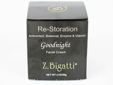Z. Bigatti Re-Storation Goodnight Facial Cream 2 oz 56 g Antioxidant Botanical