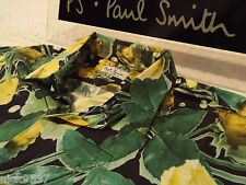 "PAUL SMITH Mens Shirt �� Size 15.5"" (CHEST 48"")��RRP £95+�� VINTAGE FLORAL/ROSE"