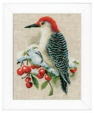 Woodpecker - Vervaco Cross Stitch Kit New