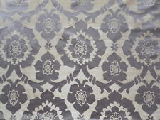 Zoffany Curtain Fabric TARIQ 10 mtrs Grape Silk Mix Weave Damask Design