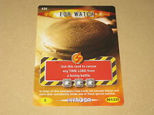 Doctor Who Battles In Time - Fob Watch Card (436)