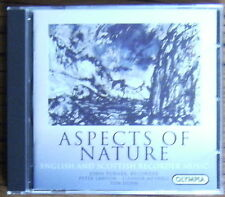 JOHN TURNER Aspects Of Nature - English & Scottish Recorder Music CD (2002) Dunn