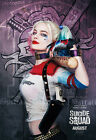 Harley Quinn Margot Robbie Suicide Squad DC Comics Canvas Poster 24x36 inch