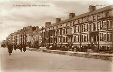 Marine Parade Morecambe RP pc used 1935 Valentines