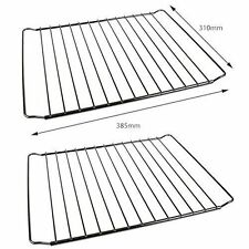 2x Universal Adjustable Oven Cooker Shelf Rack Grill 350mm To 550mm