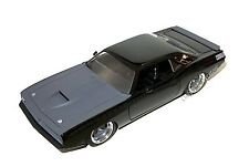 JADA Fast And Furious Letty's Plymouth Barracuda 1:24 Matte Black/Gray
