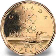 2004 $1 Lucky Loonie Canadian Dollar