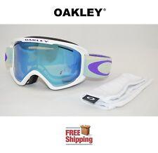 OAKLEY® GOGGLES O2™ XM 02 DUAL LENS SNOW BOARD SKI GEO TWILL PURPLE W/ VIOLET