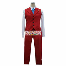 Ace Attorney Apollo Justice Uniform COS Clothing Cosplay Costume