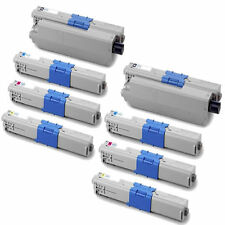 8-Pack Toner Set for Oki C331dn C510dn C530dn C531dn MC561 MC562w 44469801