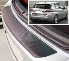 Peugeot 308 MK2 - Carbon Style rear Bumper Protector