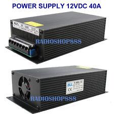 T-480-12 Super Stable Power supply unit 480W DC12V 40AMP ( 10.5 - 13.8V ) 110V