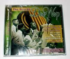 The Best Of Doo Wop Volume 5 The Charts Harptones 5 Satins Videos. CD New Sealed