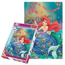 Trefl 260 Pieza Niños Chicas Disney Princesas Sirenita Rompecabezas Nuevo
