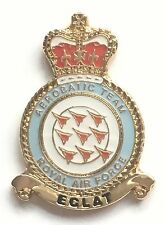 RAF Royal Air Force Red Arrows Crest Small Lapel Pin Badge *Official Product*