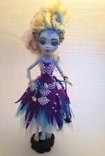 Monster High muñeca/OOAK/Lagoona Blue/artistas muñeca/Repaint Doll