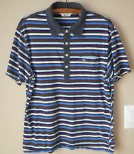 Penguin by Munsingwear Heritage Slim-Fit 100% Cotton SS Striped Polo Shirt  XL