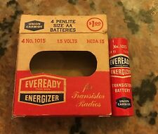 1950S EverReady Battery With Box