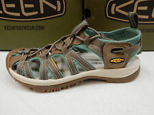 KEEN WOMENS SANDALS WHISPER SHITAKE MALACHITE SIZE 7.5
