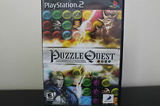 Puzzle Quest: Challenge of the Warlords  (Sony PlayStation 2, 2007) *Tested/Cmpl