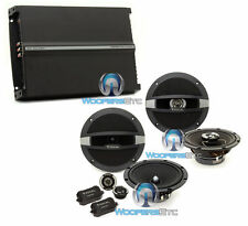 "3pkg FOCAL 6.5"" R165S2 COMPONENT + R165C  SPEAKERS + R4280 4-CHANNEL AMPLIFIER"