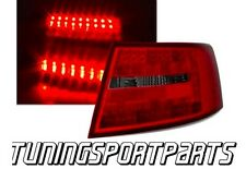 REAR TAIL LED LIGHTS RED-SMOKE FOR AUDI A6 4F 04-08 LIMOUSINE LAMPS FANALE