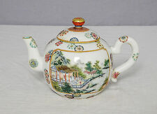 Chinese  Famille  Rose  Porcelain  Teapot  With  Mark     M1463