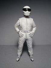 WHITE  STIG  TOP  GEAR  1/18  PAINTED  FIGURE  MADE  BY  VROOM  FOR  GT  SPIRIT