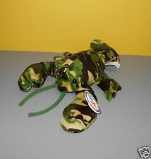 New Mary Meyer Flip Flops Camo The Camouflage Lobster Floppy Bean Stuffed Plush