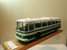 RUSSIAN MODEL LAZ 699R CITY BUS 1985 GREEN RESIN HANDMADE 1:43
